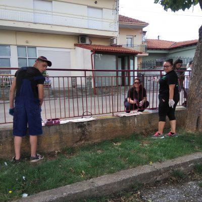 Με τη βοήθεια της νεολαίας του χωριού ο Σύλλογος γονέων και κηδεμόνων Δημοτικού σχολείου Γαλατινής πραγματοποίησε εργασίες στον προαύλιο χώρο του σχολείου, ενόψει της νέας σχολικής χρονιάς (Φωτογραφίες)