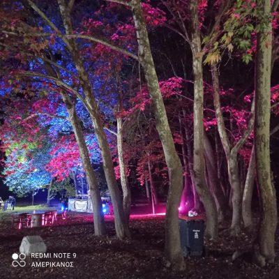 kozan.gr: Σ' ένα μαγευτικό τοπίο, στο Πλατανόδασος Ρυμνίου Κοζάνης, που φωτίστηκε καταλλήλως, πραγματοποιήθηκε, το βράδυ του Σαββάτου 11/9, από τον Πολιτιστικό Σύλλογο Ρυμνίου, το 1ο πάρτι νεολαίας (Βίντεο & Φωτογραφίες)
