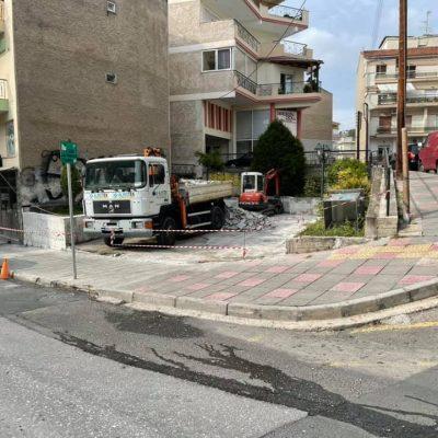 Ξεκίνησαν οι εργασίες για την ανάπλαση της πλατείας Παύλου Χαρίση και Μαλούτα στην Κοζάνη (Φωτογραφία)