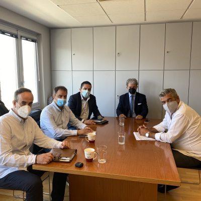 Συνάντηση Μελών της Διοίκησης του Επιμελητηρίου Κοζάνης με τον Συντονιστή του ΣΔΑΜ