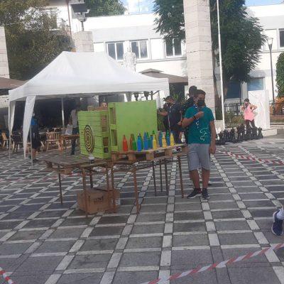 kozan.gr: Παιχνίδια, στην κεντρική πλατεία Πτολεμαίδας, από τους Προσκόπους, στο πλαίσιο των δράσεων για την «Ευρωπαϊκή Εβδομάδα Κινητικότητας». (Βίντεο & Φωτογραφίες)