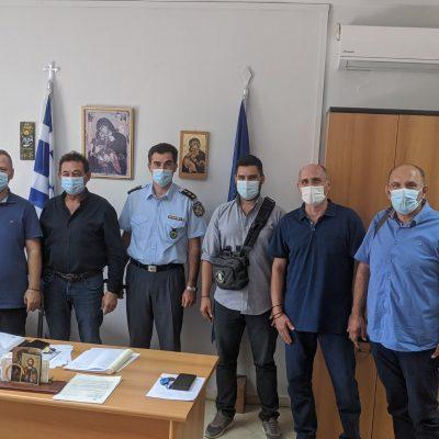 Επίσκεψη μελών της Ένωσης Αξιωματικών Αστυνομίας Δυτικής Μακεδονίας στην Διεύθυνση Αστυνομίας Γρεβενών