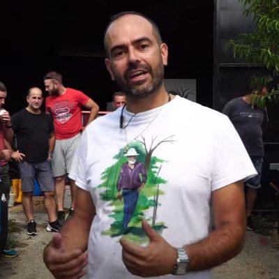 Τρύγος στο Καλονέρι Βοΐου (19/9/2021) – Η διαδικασία του εκραγισμού για την παραγωγή κρασιού – Βίντεο από tovoion.com
