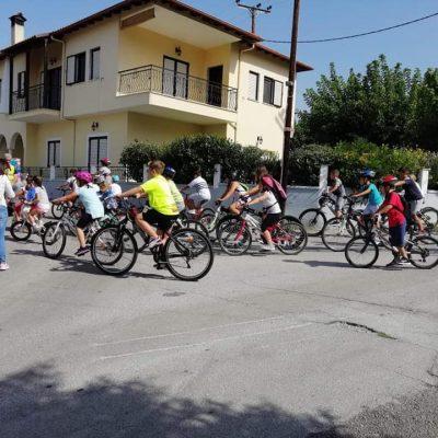 kozan.gr: Γέμισε ποδήλατα, το πρωί της Κυριακής 19/9, το Βελβεντό,  στο πλαίσιο δράσης οδικής αγωγής με αφορμή την Ευρωπαϊκή Εβδομάδα Κινητικότητας (Φωτογραφίες)