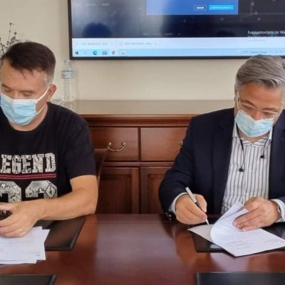 Υπογραφή σύμβασης συντήρησης δικτύου θέρμανσης Γυμνασίου- Λυκείου Νεάπολης