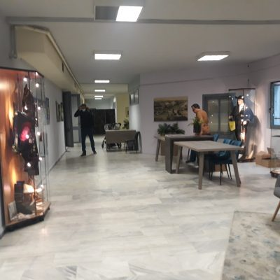 To ανακαινισμένο -εσωτερικά- Πνευματικό Κέντρο Πτολεμαΐδας (Φωτογραφίες)