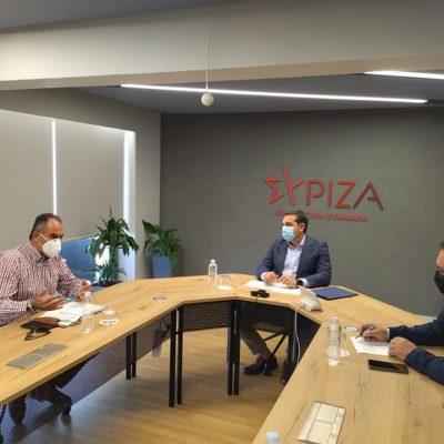 "kozan.gr: Με τον Πρόεδρο του ΣΥΡΙΖΑ Προοδευτική Συμμαχία Αλέξη Τσίπρα, σε σχέση με τις εξελίξεις και την ιδιωτικοποίηση της ΔΕΗ, συναντήθηκε, σήμερα Παρασκευή το Δ.Σ. της ΓΕΝΟΠ ΔΕΗ – ""Το Δ.Σ. της ΔΕΗ αποφάσισε αιφνιδιαστικά να χαρίσει την εταιρεία, μετά από 71 χρόνια συνεχούς και τεράστιας προσφοράς στην Εθνική Οικονομία και το δημόσιο συμφέρον"" το μήνυμα της ΓΕΝΟΠ (Φωτογραφίες)"