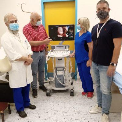 """Γ.Ν Κοζάνης """"Μαμάτσειο"""": Παρελήφθη συσκευή υπερήχων GE Voluson S8, που θα υποστηρίξει το κλινικό έργο της Μαιευτικής και Γυναικολογικής κλινικής"""