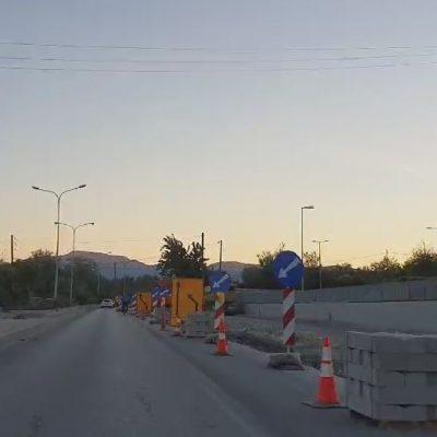kozan.gr: Σημερινό βίντεο με την εξέλιξη του έργου ανάπλασης της ανατολικής εισόδου της Κοζάνης, από τον κόμβο του super market LIDL προς την είσοδο της πόλης