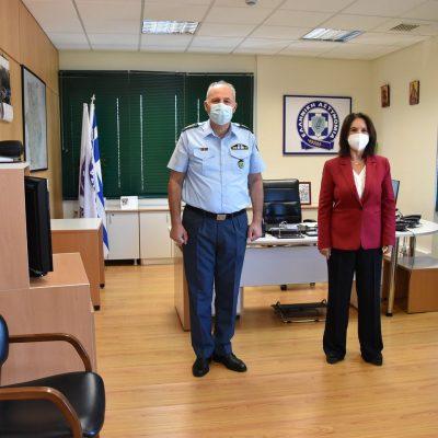 Καλλιόπη Βέττα: Επίσκεψη στην Γενική Περιφερειακή Αστυνομική Διεύθυνση Δυτικής Μακεδονίας