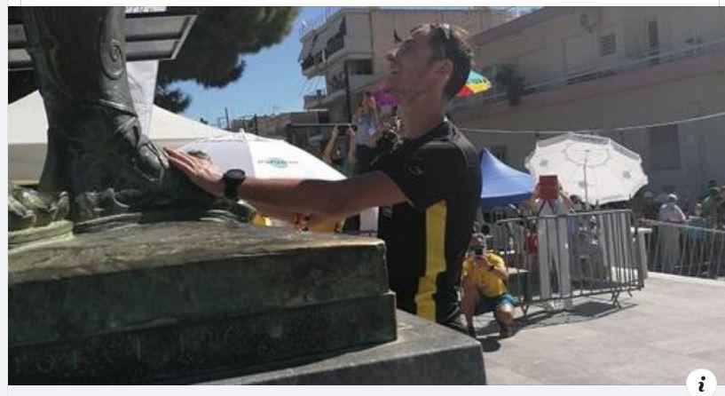 Ο Γιώργος Γκάτσος από τα Νάματα Bοίου ήταν ο 2ος Έλληνας που τερμάτισε στον «39ο Σπάρταθλον»