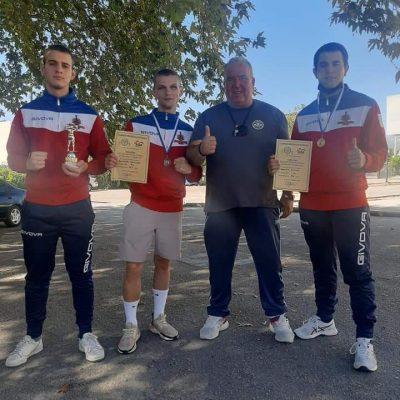 1 χρυσό, 1 ασημένιο και ένα χάλκινο μετάλλιο για τους Πυγμάχους του Εθνικού Κοζάνης στο Πανελλήνιο Πρωτάθλημα