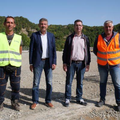 Δήμος Γρεβενών: Στο υπό κατασκευή εργοτάξιο του Ε65 ο Δήμαρχος Γρεβενών Γιώργος Δασταμάνης