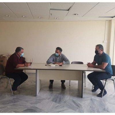 Συνάντηση του Περιφερειάρχη Δυτικής Μακεδονίας Γιώργου Κασαπίδη με το Διευθυντή του ΕΚΑΒ Δυτικής Μακεδονίας Σάββα Γιασσά