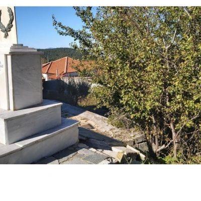 Για το μνημείο που βρίσκεται στο Καταφύγιο Κοζάνης στο Δήμο Βελβεντού