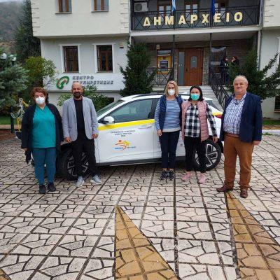 Το πρώτο βήμα στην ηλεκτροκίνηση έκανε ο Δήμος Πρεσπών με την απόκτηση ενός αμιγώς ηλεκτρικού αυτοκινήτου