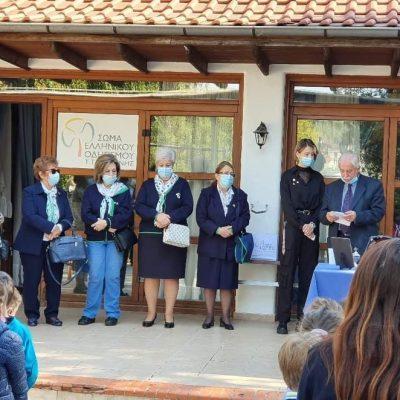 Σε κλίμα συγκίνησης πραγματοποιήθηκε την Κυριακή 3/10 στο Κουρί Κοζάνης, ο ετήσιος καθιερωμένος αγιασμός για το Τοπικό Τμήμα ΣΕΟ Κοζάνης