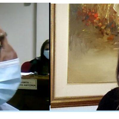 "kozan.gr: Καβγάς Τερζοπούλου – Χαρακτσή στο Δημοτικό Συμβούλιο Εορδαίας – ""Δεν θα κατευθύνετε όπου θελετε εσείς τη συζήτηση"", του είπε η επικεφαλής της μείζονος αντιπολίτευσης – Σφόδρα ενοχλημένος, με τη συγκεκριμένη παρατήρηση, ο Πρόεδρος του Δημοτικού Συμβουλίου, ανέβασε τους τόνους και της απάντησε: ""Δεν κάνουμε εδώ πολιτικό αγώνα. Έχετε ξεφύγει από το θέμα"" (Βίντεο)"