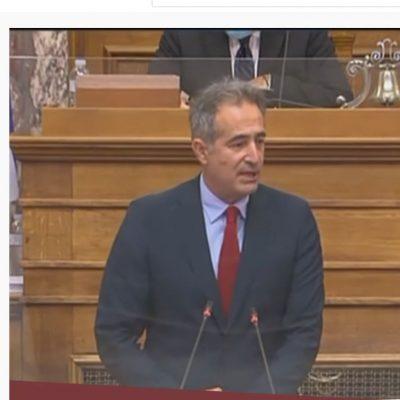 """Στάθης Κωνσταντινίδης: """"Όχι, δεν είναι μόνο η τράπεζα και το fund δανειστής και επισπεύδων αναγκαστικής εκτέλεσης.  Είναι και ο έμπορος, είναι και ο εργαζόμενος, είναι κι εκείνος που έχει πάθει μία βλάβη και έχει αποζημιωτική απαίτηση"""""""