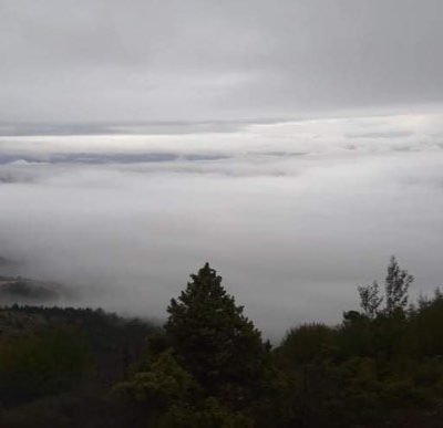 "kozan.gr: Η εντυπωσιακή θέα από το Μεταξά Σερβίων, στη θέση ""Ντουβράς"" (Σημερινές φωτογραφίες)"