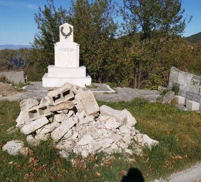 Η Οδύσσεια ενός μνημείου πεσόντων Ελλήνων, στο χωριό του Αλέξη Ζορμπά, στο Καταφύγι του Δήμου Βελβεντού  (γράφειο ο Κρικόρ Τσακιτζιάν)