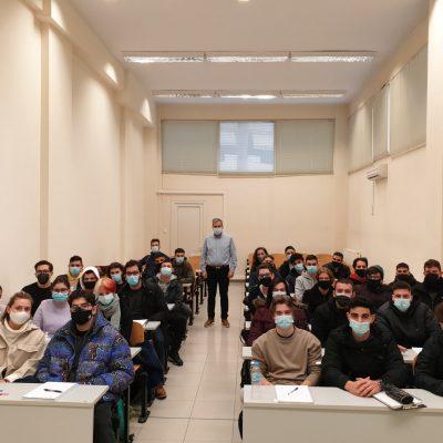"kozan.gr: Ο Πρύτανης του Πανεπιστημίου Δ. Μακεδονίας Θ. Θεοδουλίδης  για την επιστροφή στις αίθουσες διδασκαλίας: ""Eίναι απόλαυση η δια ζώσης διδασκαλία¨  (Φωτογραφίες)"