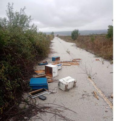 kozan.gr: Eπιδρομή αρκούδας σε μελίσσια στον κάμπο της Ακρινής – Καταστράφηκαν, ολοσχερώς, 21 κυψέλες (Φωτογραφίες & Βίντεο)