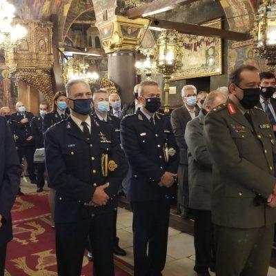 kozan.gr: Γιορτάστηκε, το πρωί της Τετάρτης 20/10, η «Ημέρα της Αστυνομίας» και του Προστάτη του Σώματος, Αγίου Αρτεμίου, στον Ι. Μ.Ν. Αγίου Νικολάου Κοζάνης (Βίντεο & Φωτογραφίες)